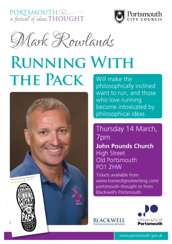 Portsmouth Thought Mark Rowlands event poster-0213-HR
